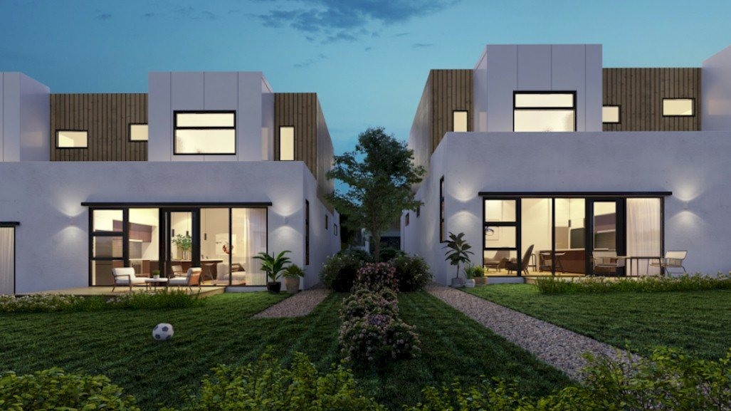 A lovely house design by Linedesign